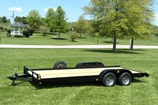 18FT CAR TRAILER FOR SALE