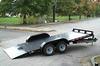 CAR TRAILER TILT BED FOR SALE