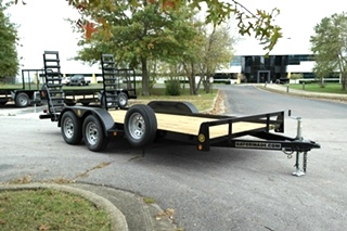 18 FT CAR HAULER FLAT BED FOR SALE