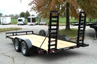 18 FT CAR HAULER FLAT BED FOR SALE